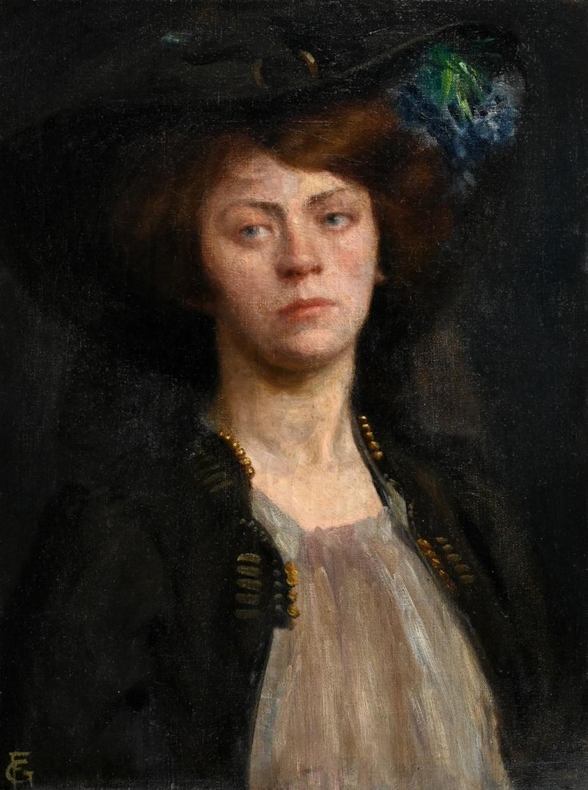 Maler um 1900 » Öl-Gemälde Portrait Impressionismus Jugendstil Secession