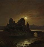 Adolph Kreutzer (Maler des 19. Jhdt.) » Öl-Gemälde Romantik Düsseldorfer Malerschule