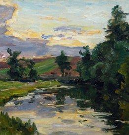 Carl Piepho (1869 - 1920) » Öl-Gemälde Impressionismus süddeutsche Malerei