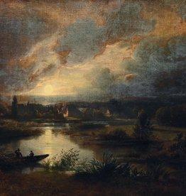 Johann Jakob Vollweider (1834 - 1891) » Öl-Gemälde Spätromantik Landschaft