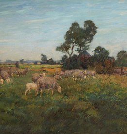 Ludwig Kiederich (1875 - 1929) » Öl-Gemälde Düsseldorfer Malerschule Tiermalerei