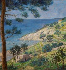Künstler um 1920 » Öl-Gemälde Postimpressionismus Landschaft Italien