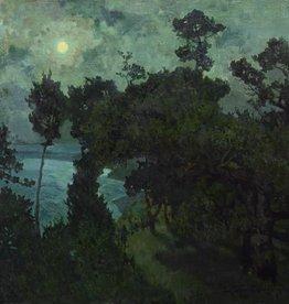 Carl Kayser-Eichberg (1873 - 1964) » Öl-Gemälde Jugendstil Landschaft Italien