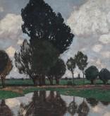 Carl Küstner (1861 - 1934) - Öl-Gemälde Landschaft