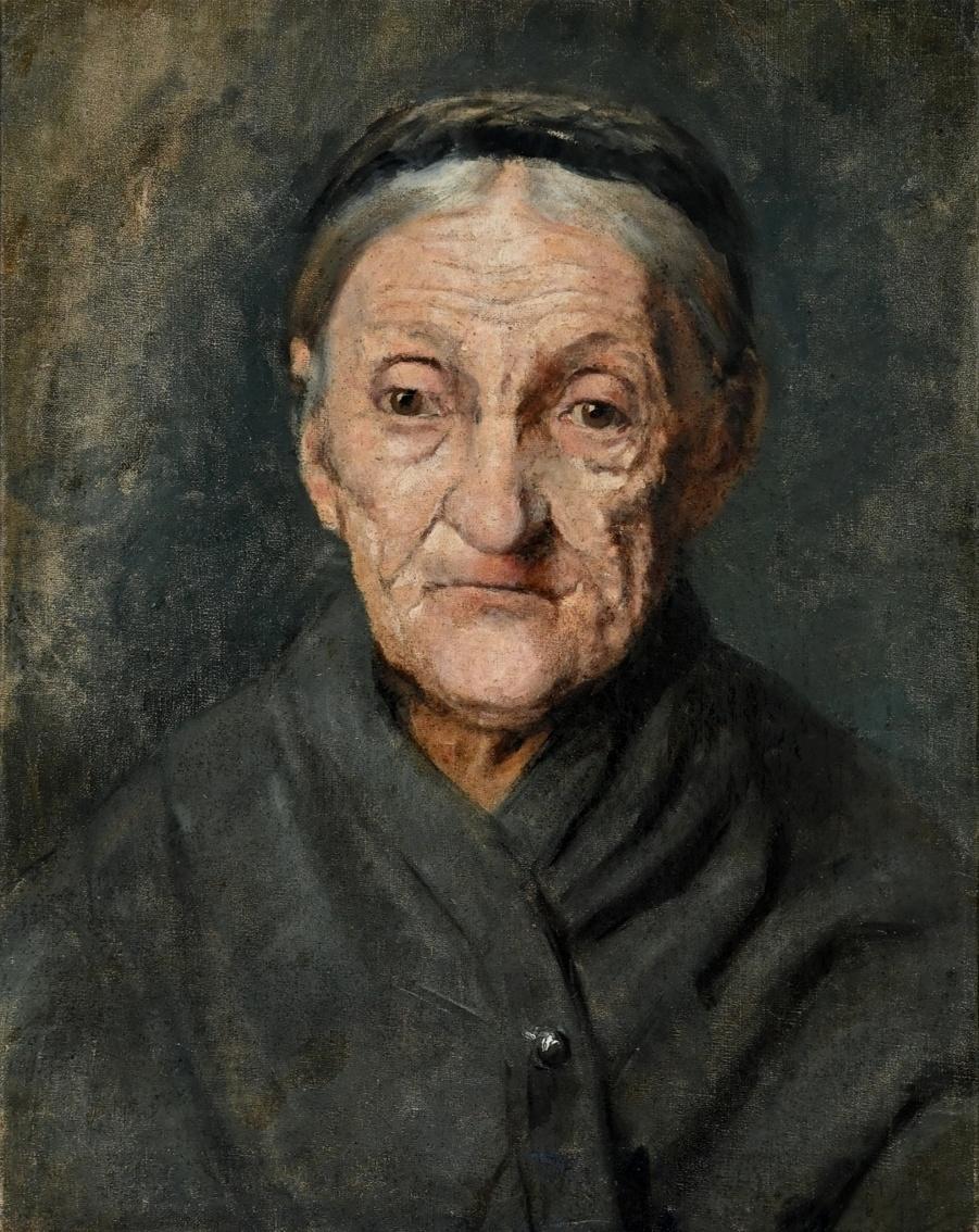 Maler*in des 19. Jahrhunderts » Öl-Gemälde Realismus Portät