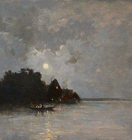 Heinrich R. Reder (1862 - 1942) » Öl-Gemälde Spätromantik Landschaft Münchner Malerschule