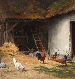 Henry Hume (1858 - 1881) » Öl-Gemälde Realismus Tiermalerei