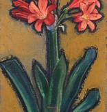Monogrammist um 1930 » Öl-Gemälde Expressionismus Blumen Stillleben