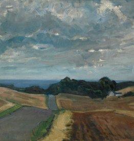 Maler des 20. Jahrhunderts » Öl-Gemälde Moderne Meer Küstenlandchaft