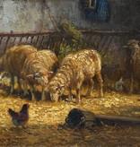 Charles Clair (1860 - 1930) » Öl-Gemälde Impressionsmus Realismus Frankreich Tiermalerei