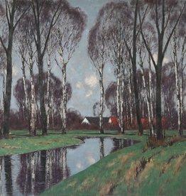 Carl Küstner (1861 - 1934) - Öl-Gemälde Landschaft Klassische Moderne