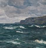 Georg Hacker (1863 - 1945) » Öl-Gemälde Impressionismus Meer Küstenlandschaft Düsseldorfer Malerschule