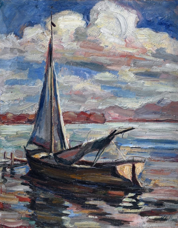 Albert Schellerer (1890 - 1974) » Öl-Gemälde Postimpressionismus Süddeutsche Malerei