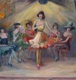 Friedrich August Herkendell (1876 - 1940) » Öl-Gemälde Postimpressionismus