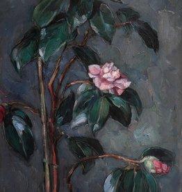 Maler/in um 1900 » Öl-Gemälde Impressionismus Blumen Stillleben