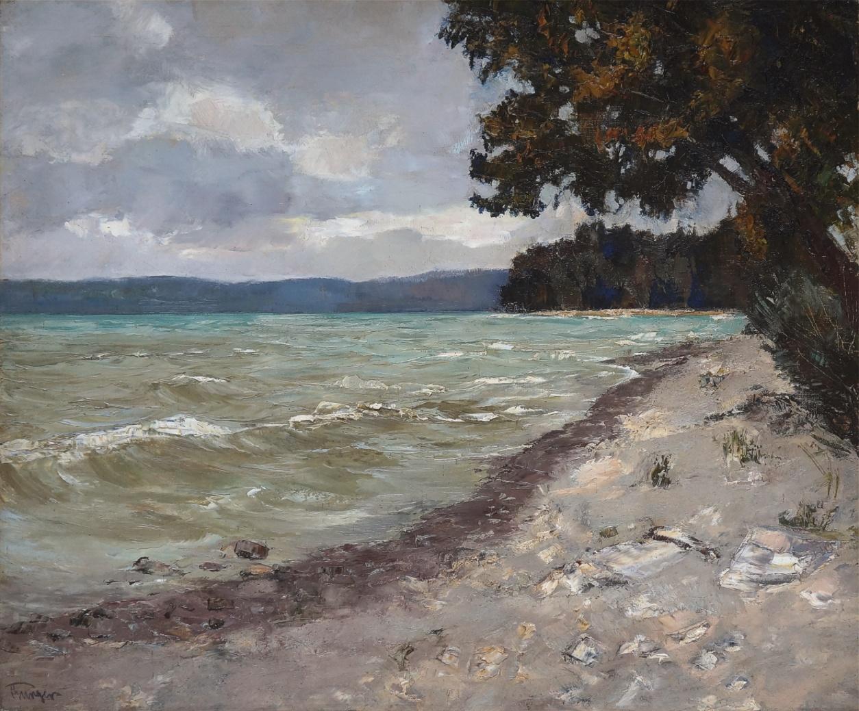 Josef Burger (1887 - 1966) » Öl-Gemälde Impressionismus Landschaft süddeutsche Malerei