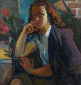 Otto H. Gerster (1907 - 1982) » Öl-Gemälde Moderne Porträt Nachkriegskunst