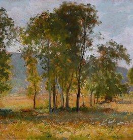 Maler des 19. Jahrhunderts  » Öl-Gemälde französischer Impressionismus Landschaft  École Barbizon