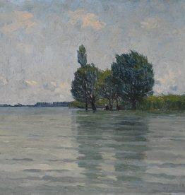 Franziska Hübsch (1857 - 1944) » Öl-Gemälde Impressionismus Bodensee Landschaft Karlsruher Malerschule
