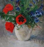 Maler um 1900  » Öl-Gemälde Impressionismus Blumen Stillleben Berliner Sezession