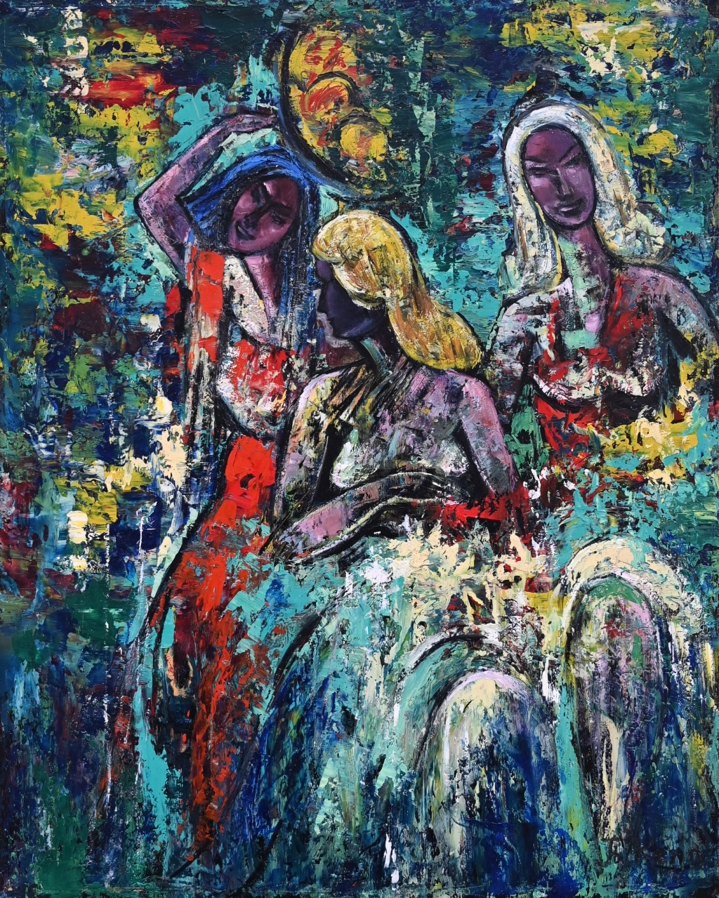 Theodor Kern (1900 - 1969) » Öl-Gemälde Expressionismus Österreich Moderne