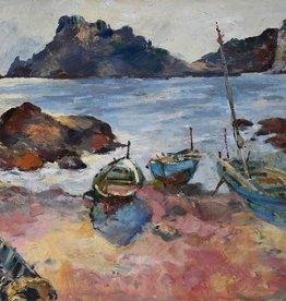 Maler des 20. Jahrhunderts » Öl-Gemälde Postimpressionismus Expressionismus Moderne Landschaft