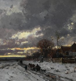 Adolf Stademann (1824 - 1895) » Öl-Gemälde Spätromantik Münchner Landschaftsmalerei