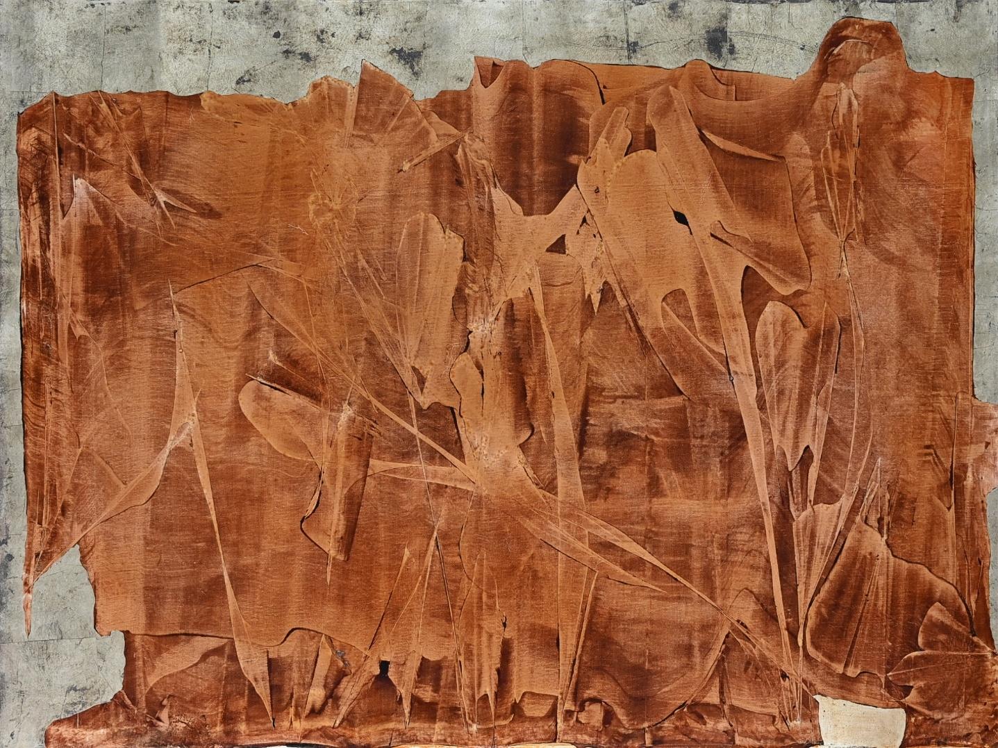 Aldo Saruggia (1931 - 1999) » Gemälde Moderne Informel