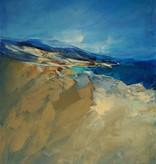 Maler des 20. Jahrhunderts » Öl-Gemälde Moderne Meer KüstenlLandschaft