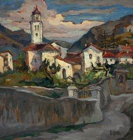 Mieze Mardner Klaas (1884 - 1950) » Öl-Gemälde Postimpressionismus Italien Landschaft