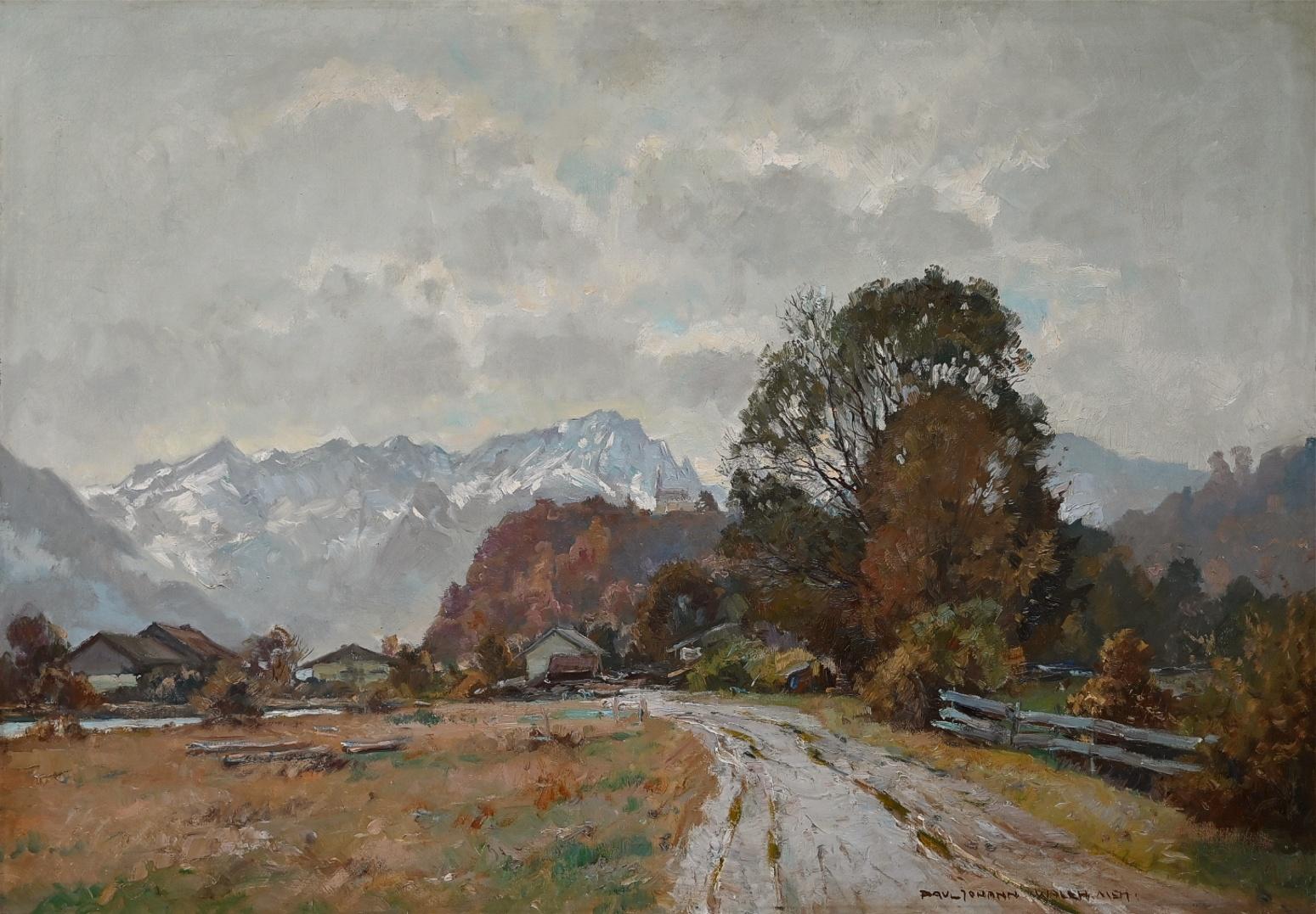 Paul Johann Walch (1881 - 1958) » Öl-Gemälde süddeutsche Malerei Münchner Malerschule