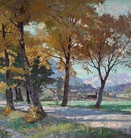 Paul Johann Walch (1881 - 1958) » Öl-Gemälde Impressionismus süddeutsche Malerei Münchner Malerschule