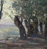 Karl Schickhardt (1866 - 1933) » Öl-Gemälde schwäbischer Impressionismus Landschaft