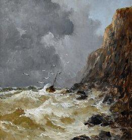 Émile Maillard (1846 - 1926) » Öl-Gemälde Marinemalerei Realismus Impressionismus Frankreich französische Schule