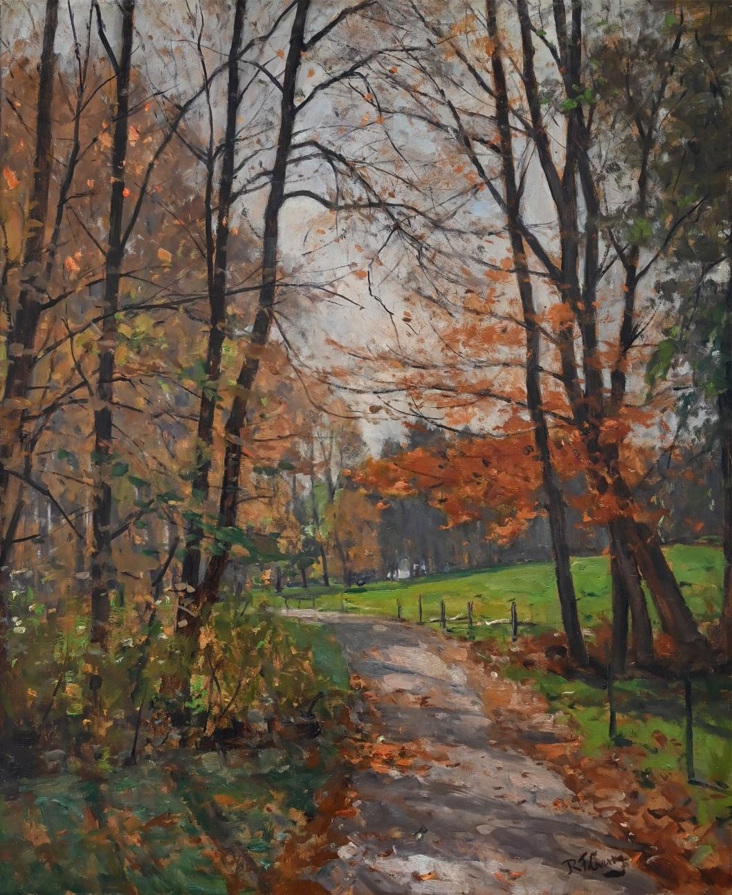 Robert Franz Curry (1872 - 1955) » Öl-Gemälde Impressionismus süddeutsche Malerei