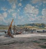 Georg Hacker (1863 - 1945) » Öl-Gemälde Impressionismus Landschaft