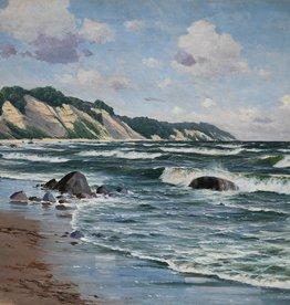 Waldemar Schlichting (1896 - 1970) » Öl-Gemälde norddeutsche Malerei Meer Küstenlandschaft Berliner Maler