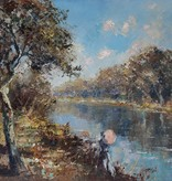 Maler des 20. Jahrhunderts » Öl-Gemälde Spätimpressionismus Landschaft