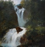 Carl Franz Rudolf Volmar (1804 - 1864) » Öl-Gemälde Klassizismus Romantik Biedermeier Landschaft Schweizer Maler
