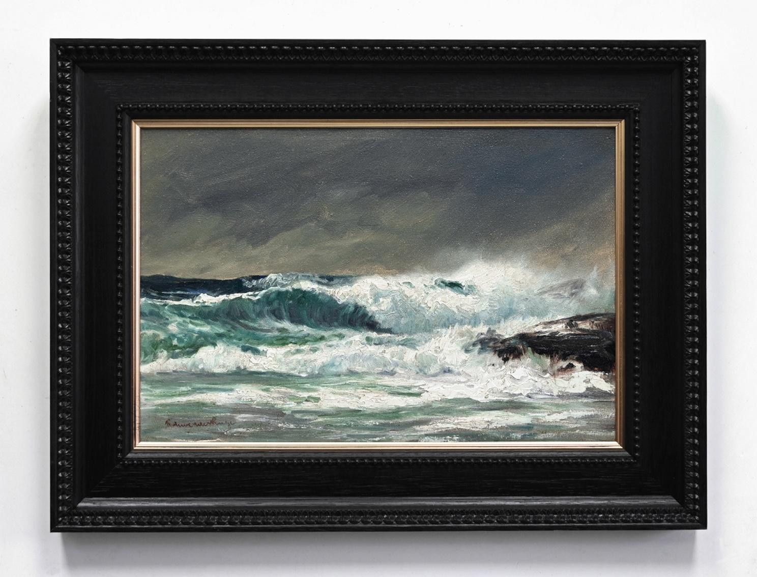 Öl-Gemälde Impressionismus Meer Küstenlandschaft Hamburger Maler norddeutsche Malerei