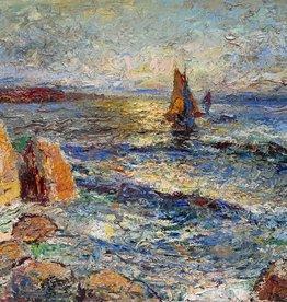 Maler des 20. Jahrhunderts » Öl-Gemälde Postimpressionismus Expressionismus Meer Küstenlandschaft