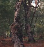 Karl Luckhardt (1886 - 1970) » Öl-Gemälde Wald Taunus Landschaft Frankfurter Maler Städelschüler