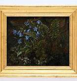 Maler des 19. Jahrhunderts  » Öl-Gemälde Dresdner Romantik Biedermeier  Wald Studie