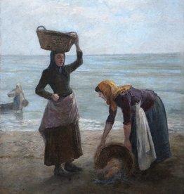 Agost Egervary Potemkin (1858 -1930) » Öl-Gemälde Genre Meer Münchner Malerschule