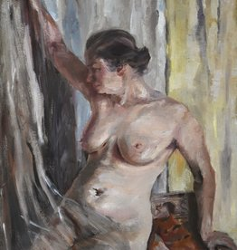 Maler des 20. Jahrhunderts » Öl-Gemälde Impressionismus Klassische Moderne weiblicher Akt ~1920