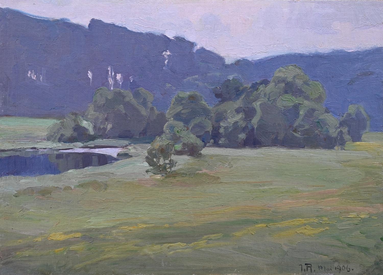 Johannes Rudolphi (1877 - 1950) » Öl-Gemälde Impressionismus Berliner Secession