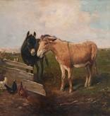 derts  » Öl-Gemälde Tiermalerei Realismus Schule von Barbizon