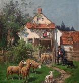 Adolf Chelius (1856 - 1923) » Öl-Gemälde Münchner Malerschule Kronberger Malerkolonie