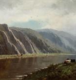 Henri J. F. Pieron (1856 -1912) » Öl-Gemälde Spätromantik