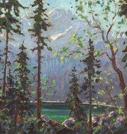 Franz Hienl-Merre (1869-1943) » Öl-Gemälde Impressionismus Alpen Landschaft Münchner Maler süddeutsche Malerei